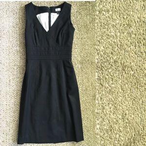Little Black Dress LBD Lined Pencil Sheath XS 2